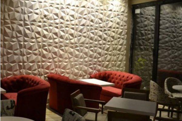 دیوارپوش سه بعدی پلیمری