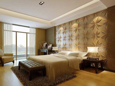 دیوار تزئینی اتاق خواب