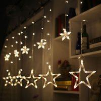 ریسه نوری ال ای دی ستاره