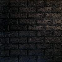 دیوارپوش فومی آجری مشکی