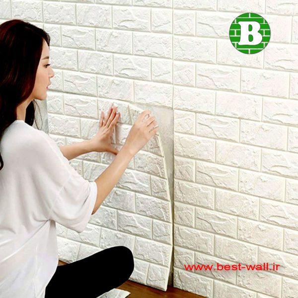 پنل دیوارپوش فومی استخوانی