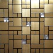 بین کابینتی آشپزخانه طلایی
