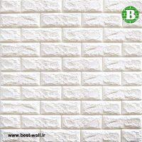 دیوارپوش و پنل فومی رنگ سفید شیری ایرانی