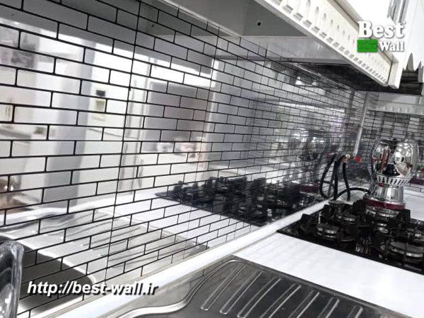 بین کابینتی چسبدار آلومینیوم کامپوزیت آشپزخانه