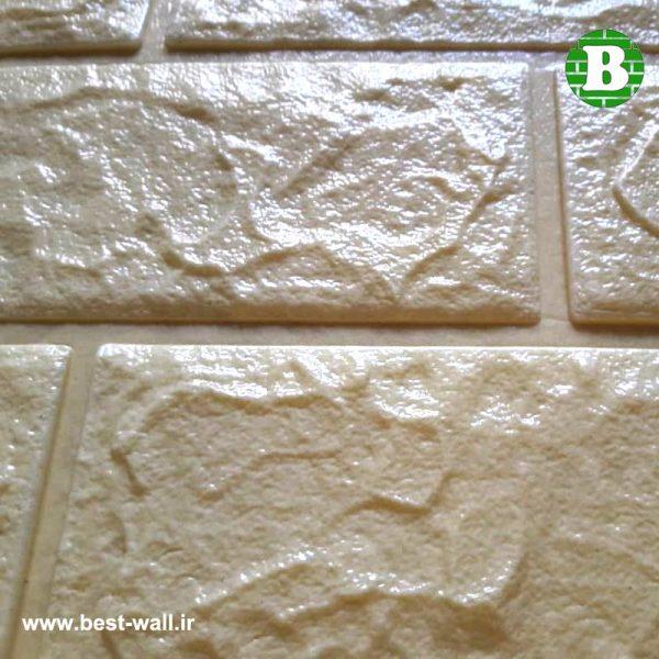 سطح پنل فومی کرم رنگ ایرانی