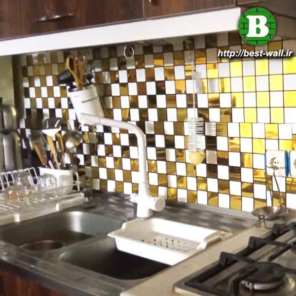 دیوار سینک ظرفشویی