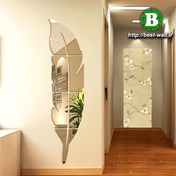 آینه دکوراتیو دیواری تک پر