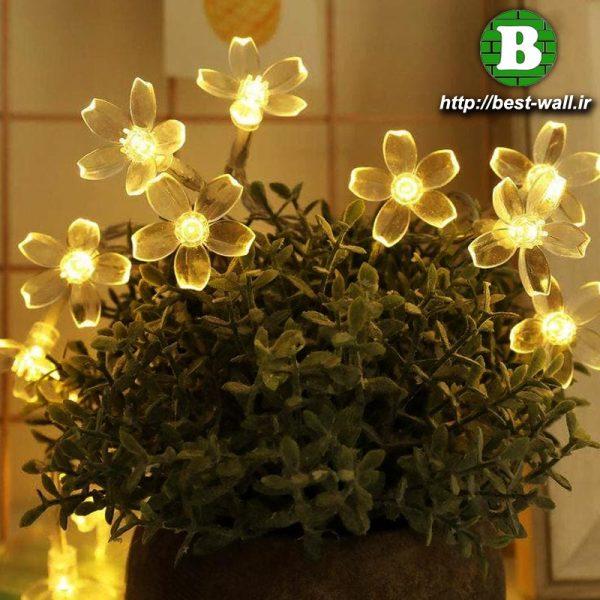 چراغ و لامپ دکوری طرح گل