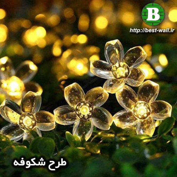 ریسه نورپردازی شکوفه