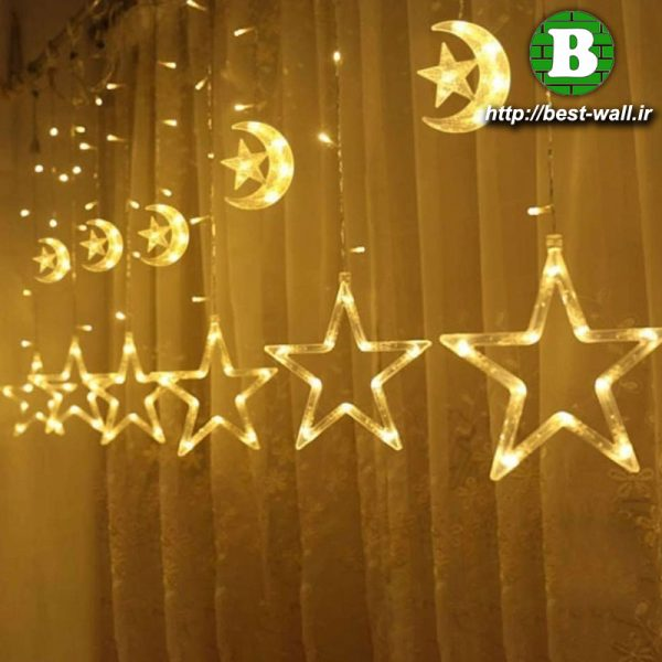 ریسه چراغانی ماه و ستاره