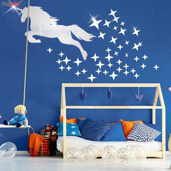 آینه دکوراتیو اسب و ستاره