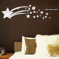 آینه دکوراتیو ستاره